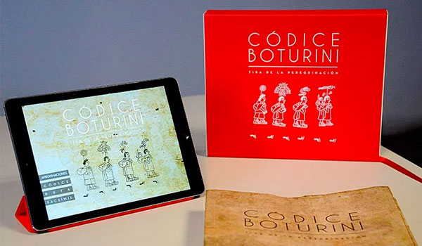 Códice Boturini para Ipad