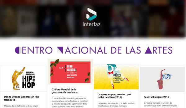 Interfaz CENART