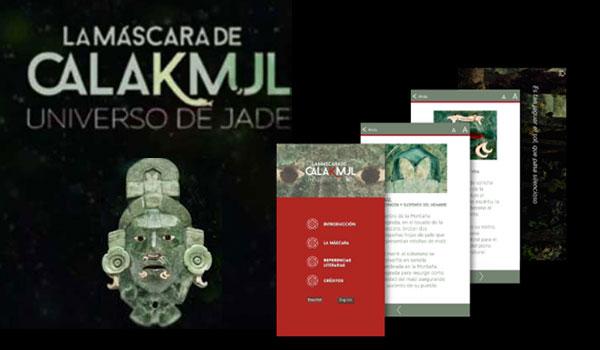 La máscara de Calakmul, universo de jade