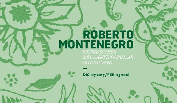 Roberto Montenegro, Expresiones del Arte Popular Mexicano