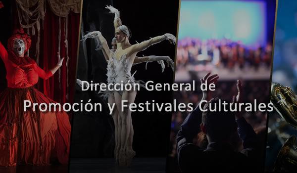 Dirección General de Promoción y Festivales Culturales